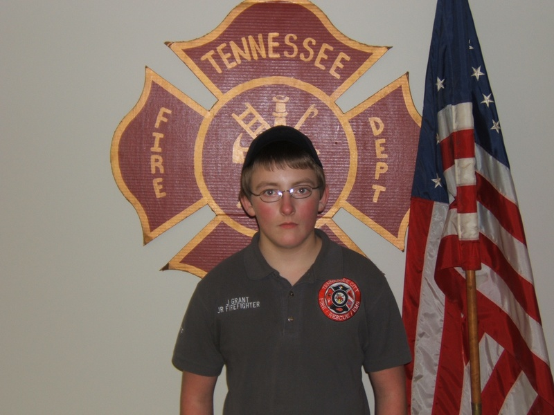Jr.FireFighter Jon-Michael
